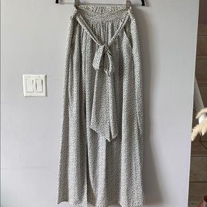 Dots Maxi Skirt